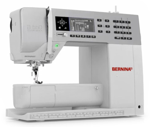 Bernina 550QE 5 Series includes BSR