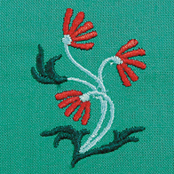 Embroidery foot (drop-shaped)