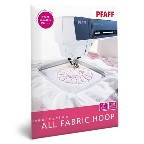 Pfaff creative ALL FABRIC HOOP II