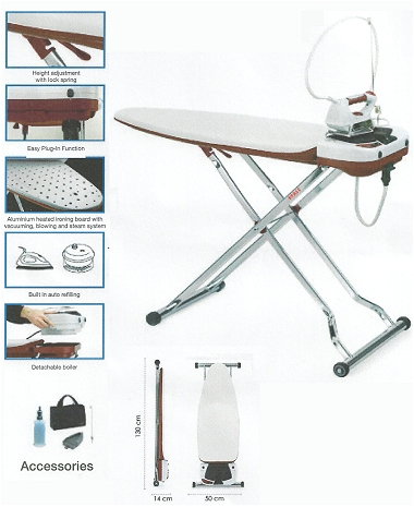 Pfaff Integrated Ironing Board PB 3035PB