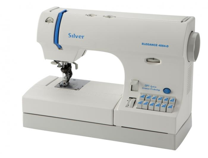 Silver Viscount 4084 ‑D DFT Sewing machine