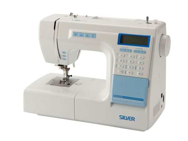 Silver Viscount 8000e Computerised Sewing machine